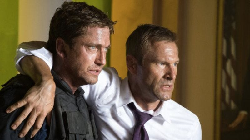 Illustration for article titled The Olympus Has Fallen sequel director has fallen