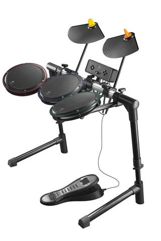 Illustration for article titled Logitech's New PS3 Drums: High Quality, High Price