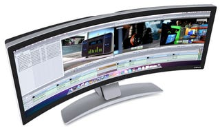 Illustration for article titled Ostendo's Crazy Curved Monitor Can Finally Be Yours For $6,500