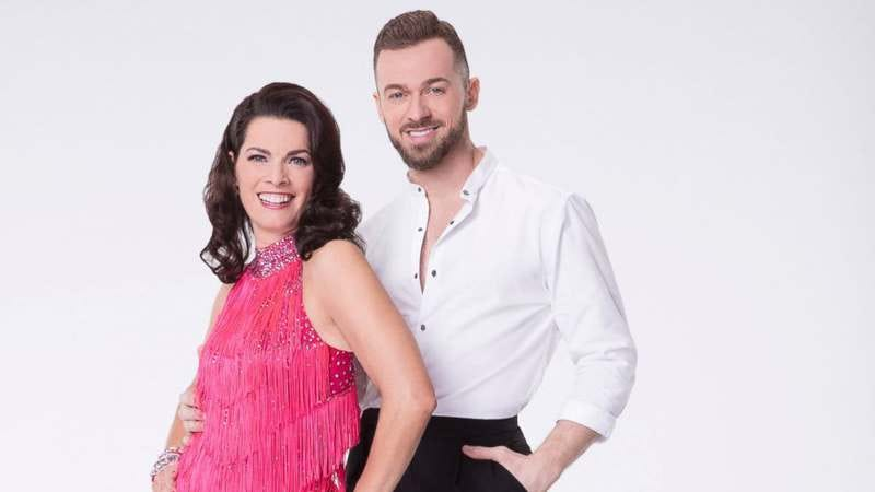 Kerrigan and her Dancing With The Stars partner Artem Chigvintsev (Photo: ABC)