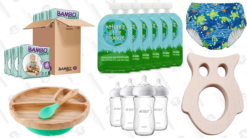 Illustration for article titled Be A Greener Parent With These Eco-Friendly Baby Products