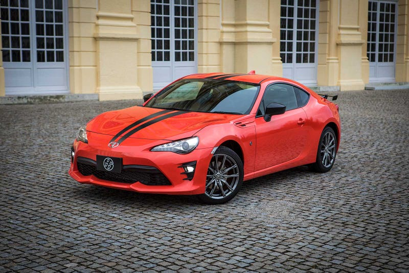 Illustration for article titled The New Toyota GT 860 Special Edition Is An Orange Reason To Not Buy The Subaru BRZ
