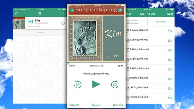 Bound for iOS Plays All Your Audiobooks Out of Dropbox