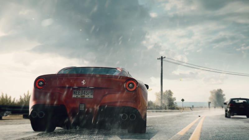 Illustration for article titled EA Says Need for Speed Rivals' Open-World Chases Are Next-Gen Racing