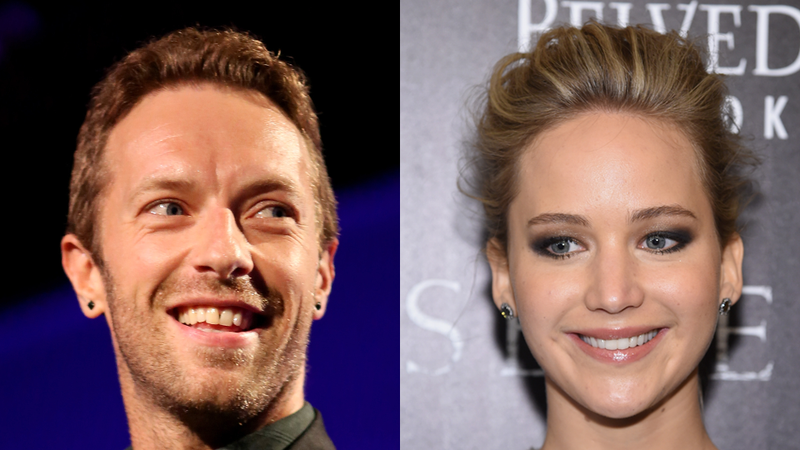 Illustration for article titled What Were Chris Martin and Jennifer Lawrence Talking About?