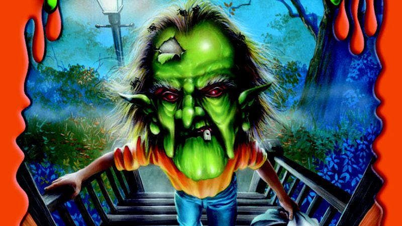 Cover for the Goosebumps book The Haunted Mask II