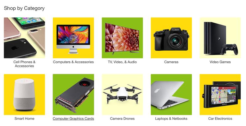 10% de descuento en tecnología | eBay | Usa el código PRIMOTECHImagen: eBay