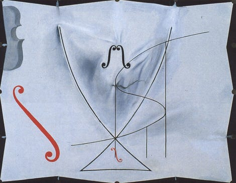 hFractal analysis revealed changes to Dali's brush strokes late in life. (Image: Dali, The Swallow's Tail, 1983)