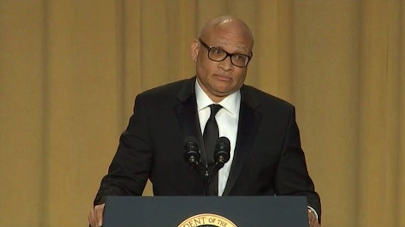 Illustration for article titled Everybody Seemed Pretty Mad at Larry Wilmore at the White House Correspondents' Dinner