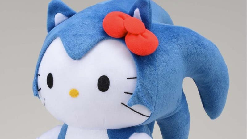 Illustration for article titled Hello Kitty, What the Hell Did You Do to Sonic the Hedgehog?