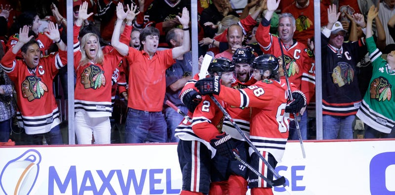Illustration for article titled Chicago Blackhawks Win The Stanley Cup