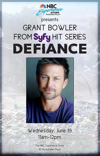 Illustration for article titled If you're in NY Wed, Jun 19: Meet Nolan, win a free Defiance game