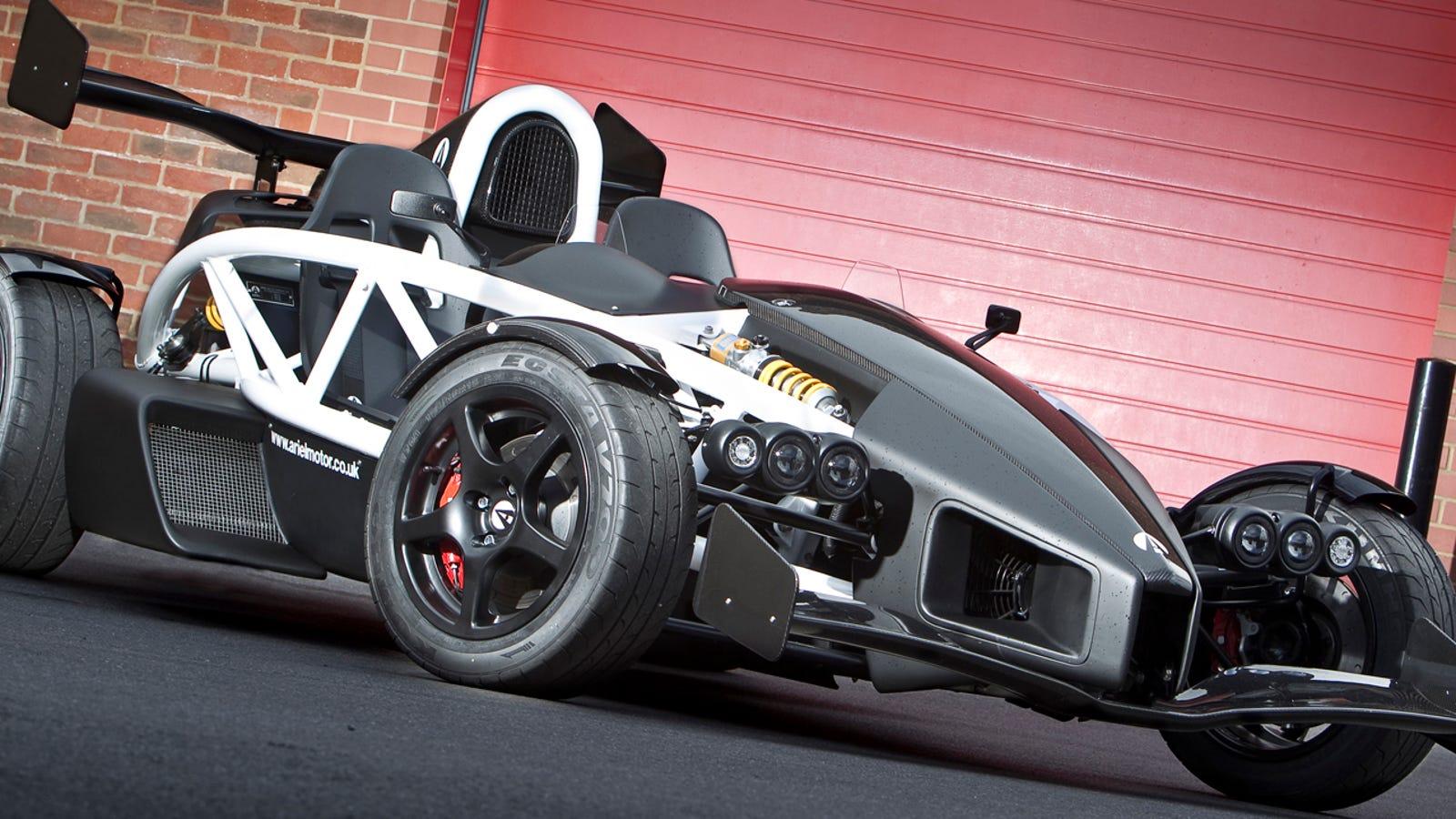 Ariel Atom V8 >> The Ariel Atom 3.5R Will Eat Supercars For Breakfast ...