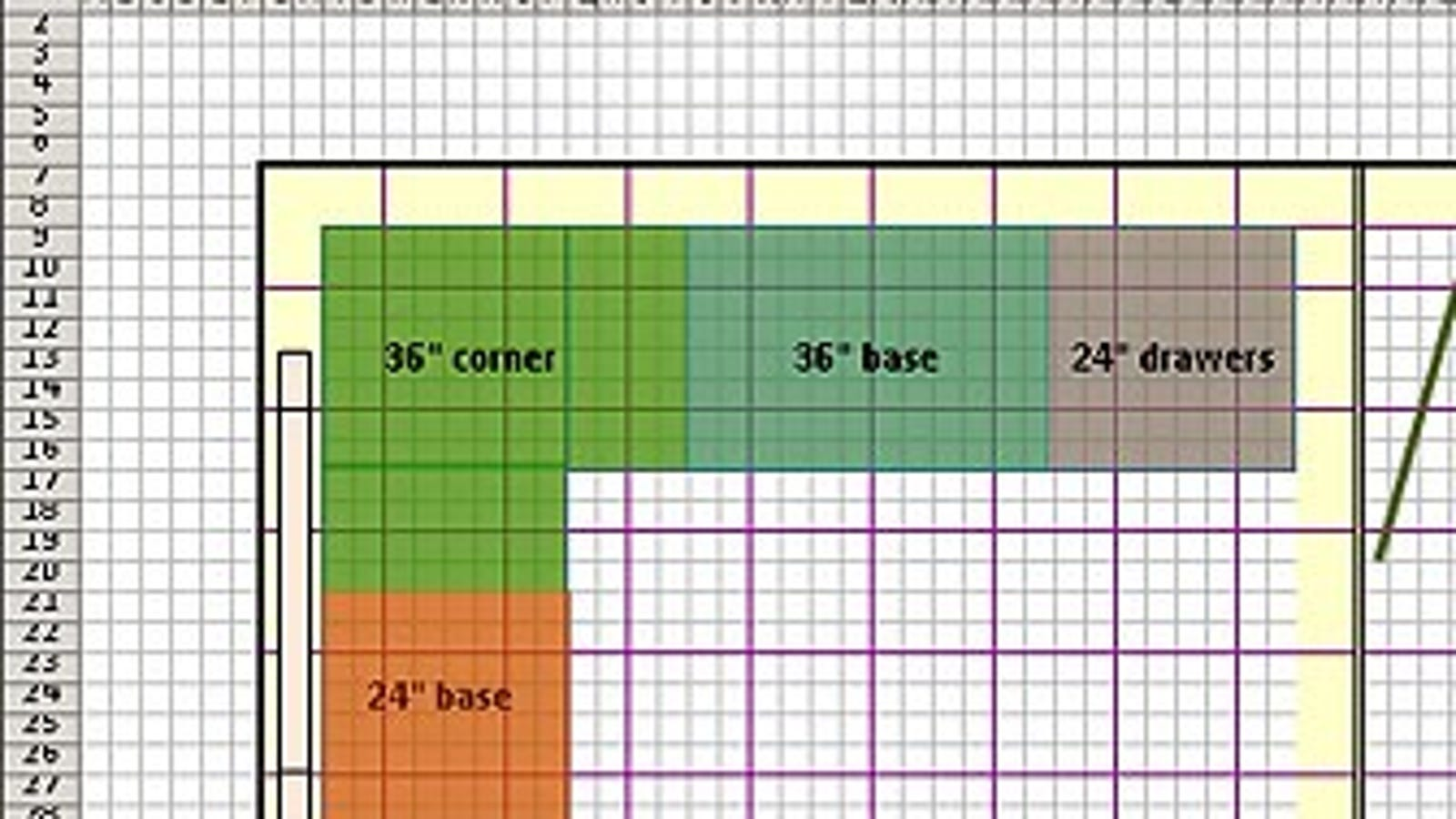 Design floor plans with excel for Make a room layout online