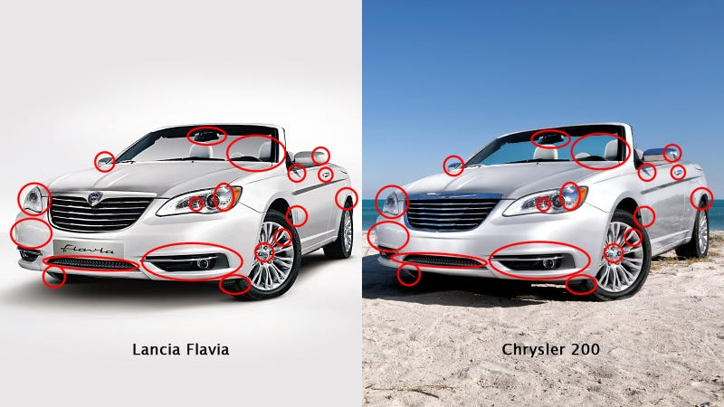 Illustration for article titled Do Lancia's new cars exist only in Photoshop?