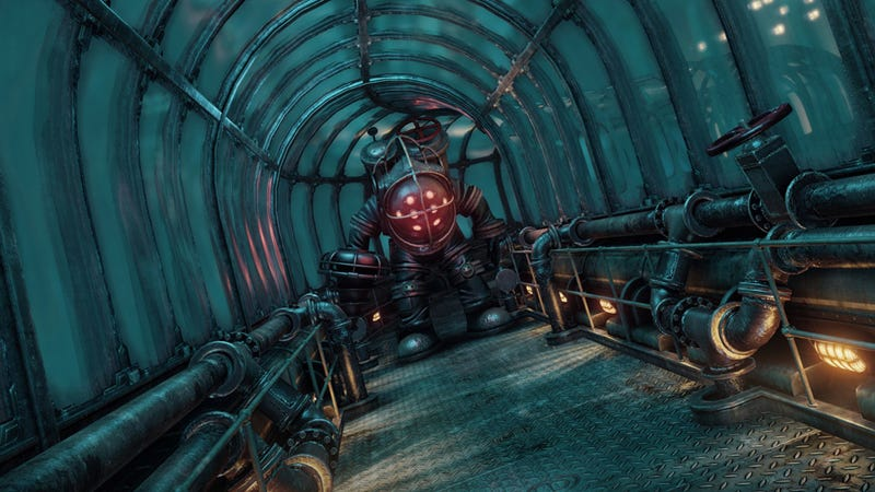 Illustration for article titled What BioShock Would Look Like Running on Crysis' Engine