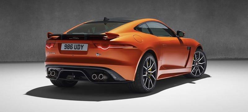 Illustration for article titled Jaguar F-Type SVR Will Hit 200 MPH For $126,000