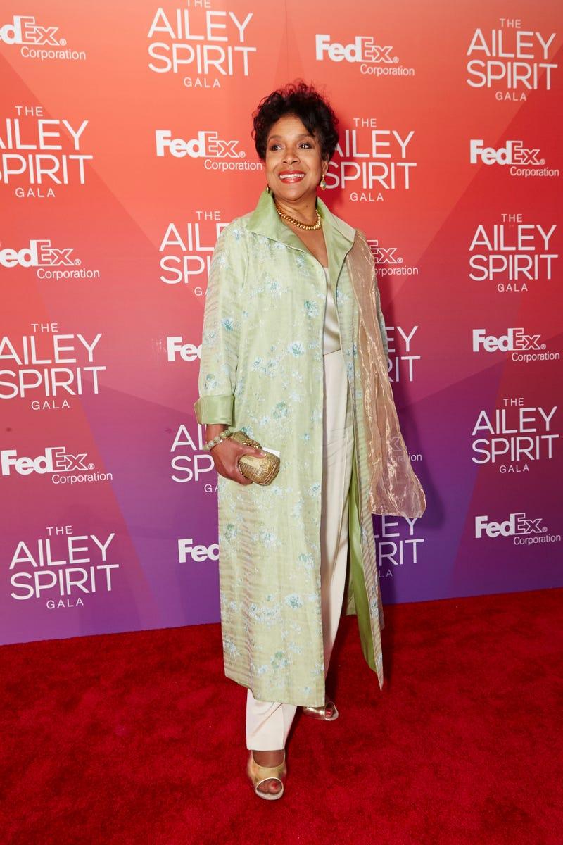 Actress Phylicia RashadDario Calmese Jr.