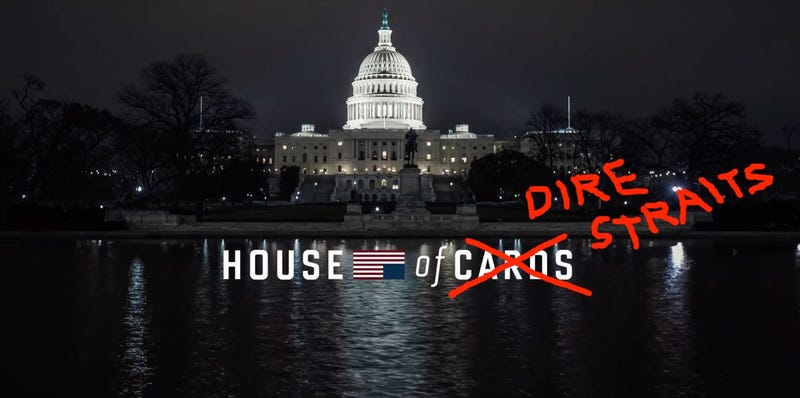 Illustration for article titled This Is the End of House of Cards Improved by That Dumb Dire Straits Song