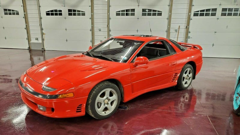 Illustration for article titled At $7,200, Does This 1991 Mitsubishi 3000GT VR-4 Have It All?