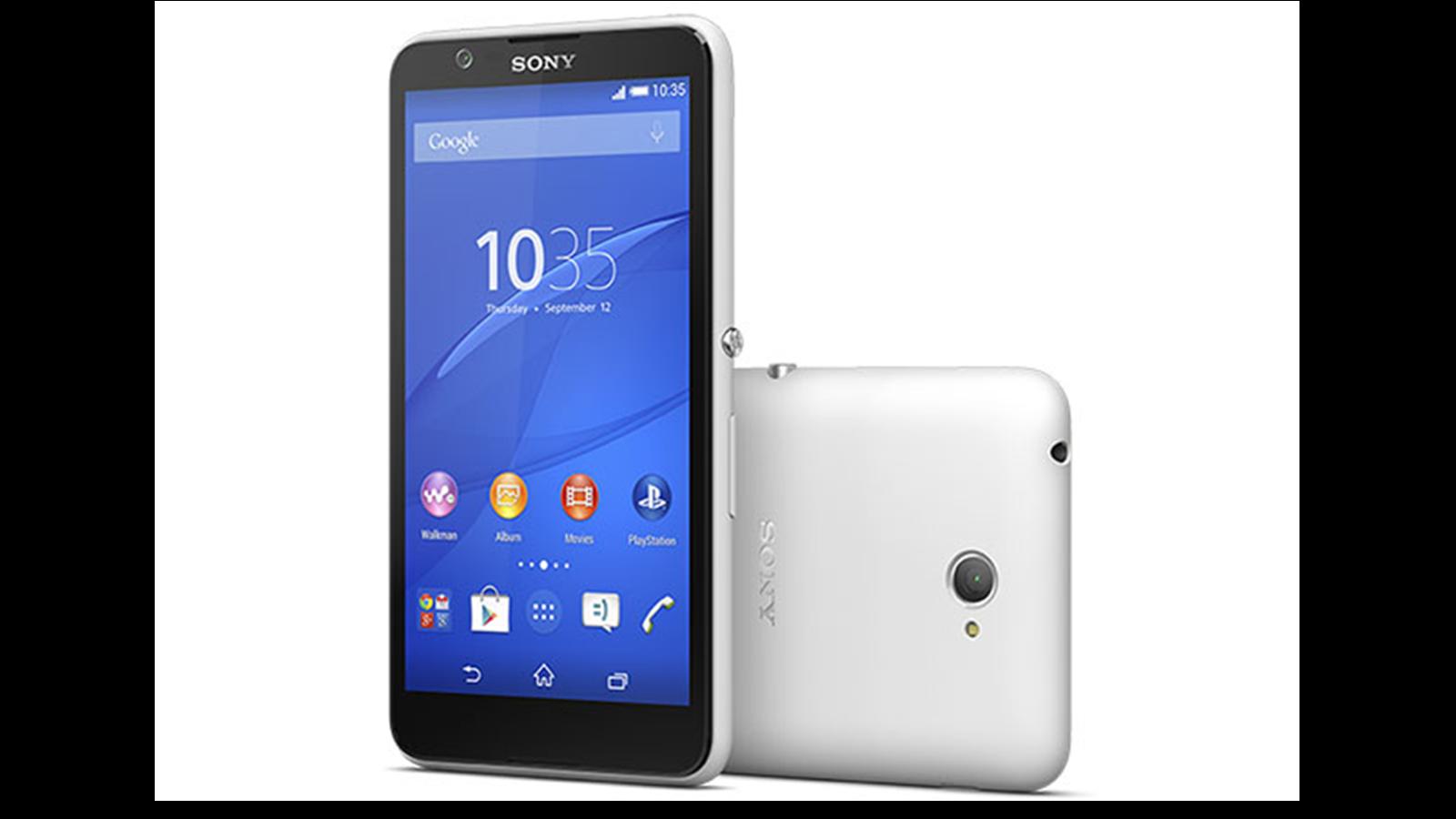 Xperia E4: el nuevo móvil barato de Sony promete 2 días de batería