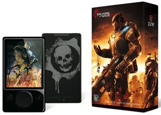 Illustration for article titled Gears of War 2 Zune Coming on Nov 7, Preorders Start in the Morning