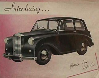 Illustration for article titled James May Disagrees With Telegraph Readers, Says '49 Triumph Mayflower Is Ugliest Car Ever