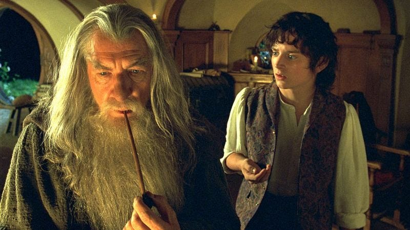 Impressively comprehensive theory maintains that The Lord Of The Rings is about a drug war