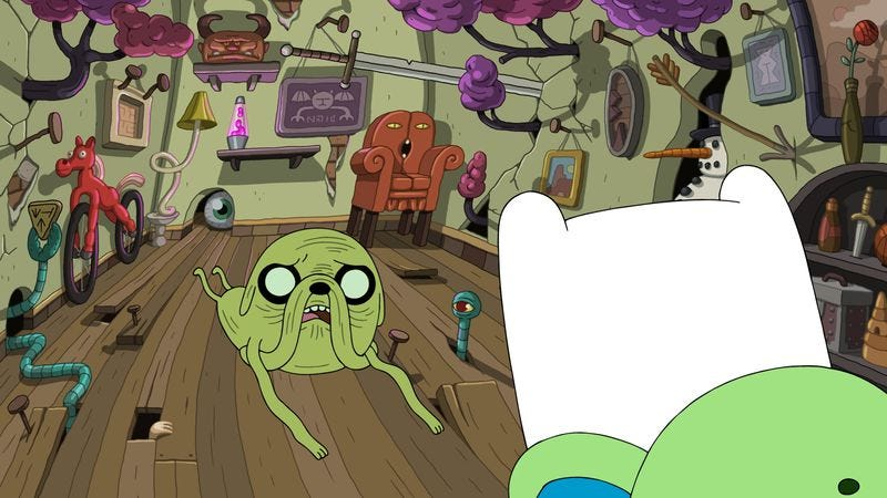 Illustration for article titled Adventure Time jumps into dreamland for an episode full of future teases