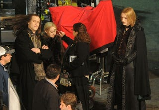 Illustration for article titled First look at the Volturi on the Breaking Dawn set