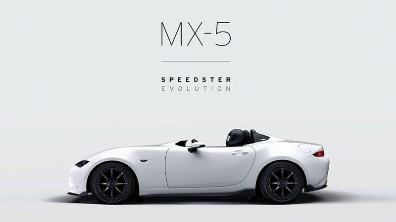 Mazda previews SEMA-bound MX-5 Speedster Evolution, RF Kuro