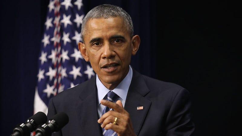 Illustration for article titled Obama Calls Out GOP For Bullshit Voter ID Laws