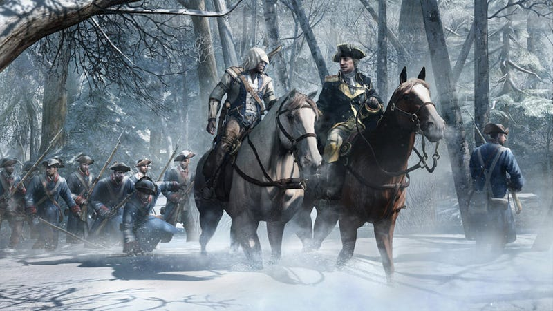 Illustration for article titled Assassin's Creed III's Top Creator Is Answering Your Questions Right Here, Right Now