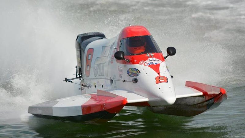 Illustration for article titled The NGK Spark Plugs F1 Powerboat Championship Series is looking to team up with sponsors and marketing partners for the 2019 season.