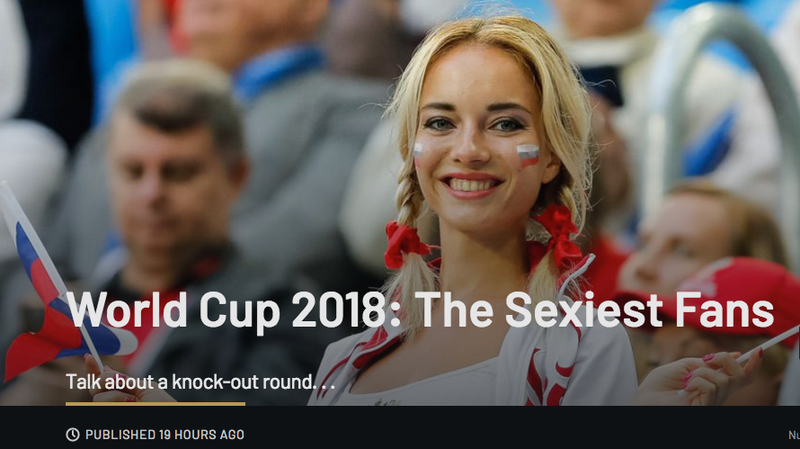 Illustration for article titled Getty Images Posts, Deletes, and Apologizes for World Cup 2018 'Sexiest Fans' Gallery
