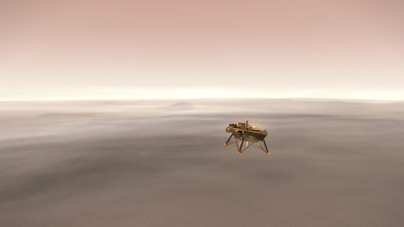 Illustration for article titled How to Watch NASA's Insight Land on Mars Today