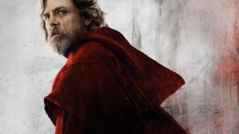 Illustration for article titled Mark Hamill habla de Star Wars: The Last Jedi y advierte del complicado futuro que le espera a Luke Skywalker