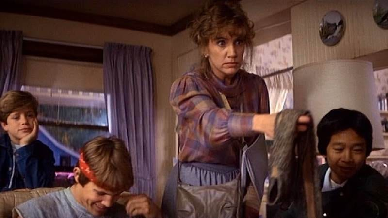 Trainor as Mrs. Walsh in The Goonies.