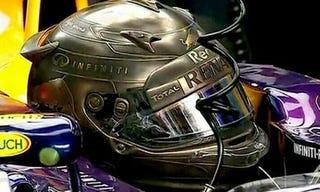 Illustration for article titled Vettel's helmet for Monaco looks awesome