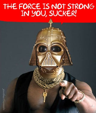 Illustration for article titled Steampunk Vader Mask Makes Me Look Like Darth Kaiser