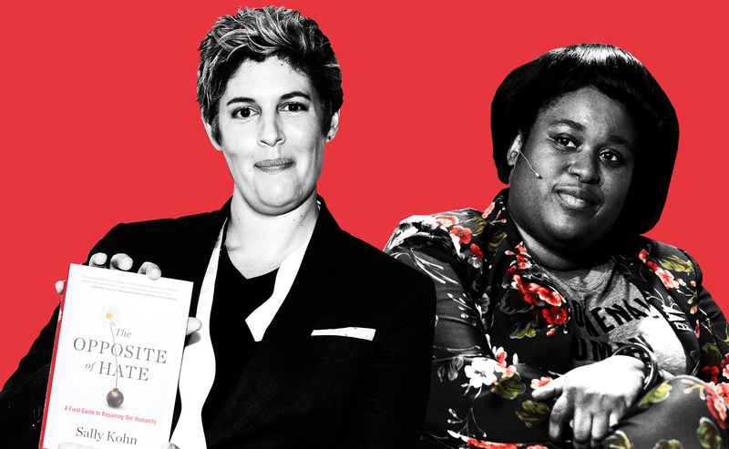 Illustration for article titled The Opposite of Respect: Sally Kohn and the 'Exploitation' of Aminatou Sow