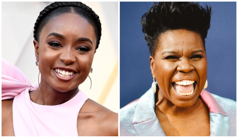 KiKi Layne, left, and Leslie Jones