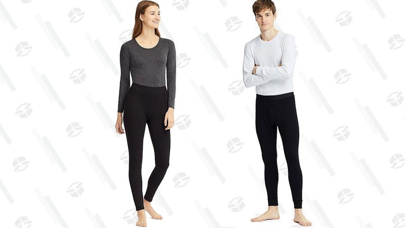 Men's and Women's Ultra Warm HeatTech Innerwear | $20 | Uniqlo
