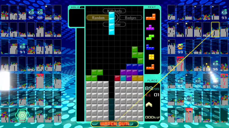 Illustration for article titled Tetris 99 Has No Tutorial, So Here's What You Need To Know