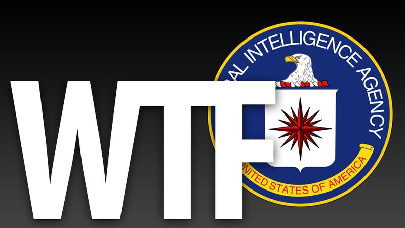 Illustration for article titled CIA Creates WTF