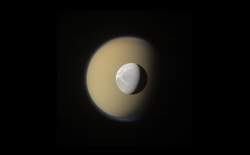 Illustration for article titled Saturn's Moons As You've Never Seen Them