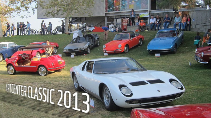 Illustration for article titled These Are The Glorious Vehicles Car Designers Invite To Their Car Show