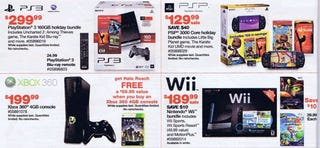 Illustration for article titled Black Friday Ads Leak New PlayStation Bundles, DS Colors