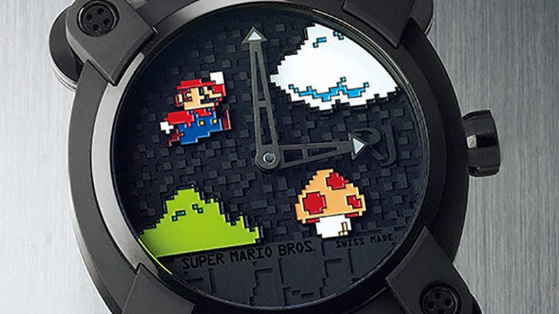 Illustration for article titled Anyone For A $27,000 Super Mario Bros. Watch?