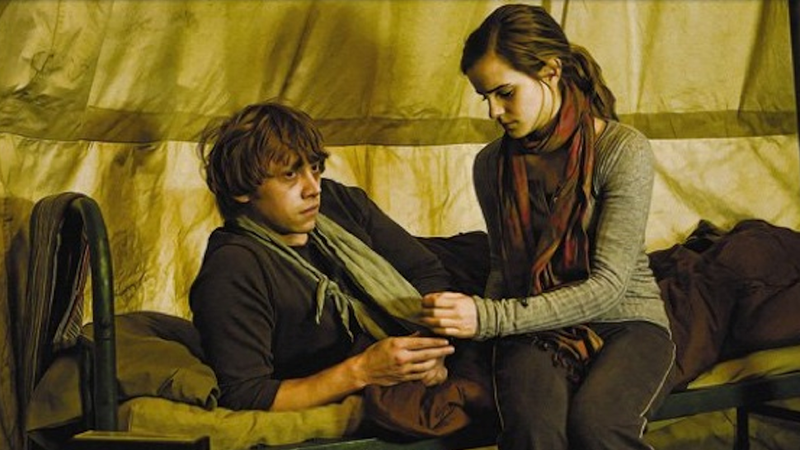 For J.K. Rowling, an Alternate Ending for Ron and Hermione